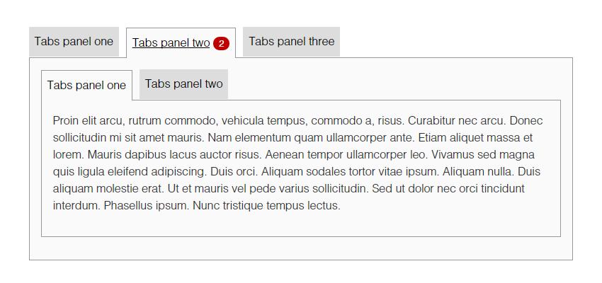 可嵌套的jQuery选项卡插件 Accessible Tabs