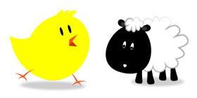 可爱的小动物PNG图标