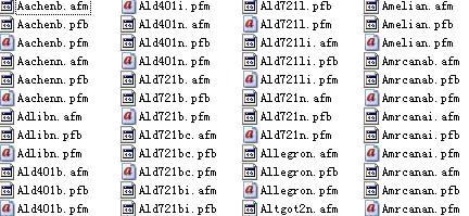 800个CorelDRAW专用字体打包下载