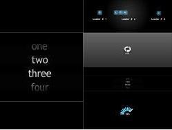 4款实用级质感flash loading素材源文件