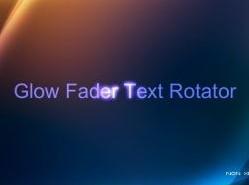 XML:环绕发光Flash文字特效-flashden源码