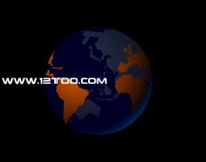 旋转的地球flash,地球仪动画素材