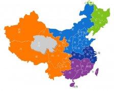 flash中国地图矢量素材